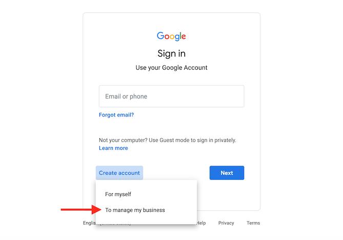 cómo crear y verificar la cuenta de google my business administrar una empresa