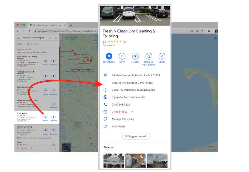 ¿Cuál es el perfil de Google My Business Business en mapas?