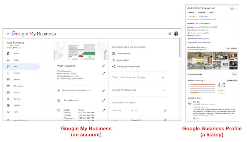 Cómo crear y verificar su cuenta de Google My Business Account vs.
