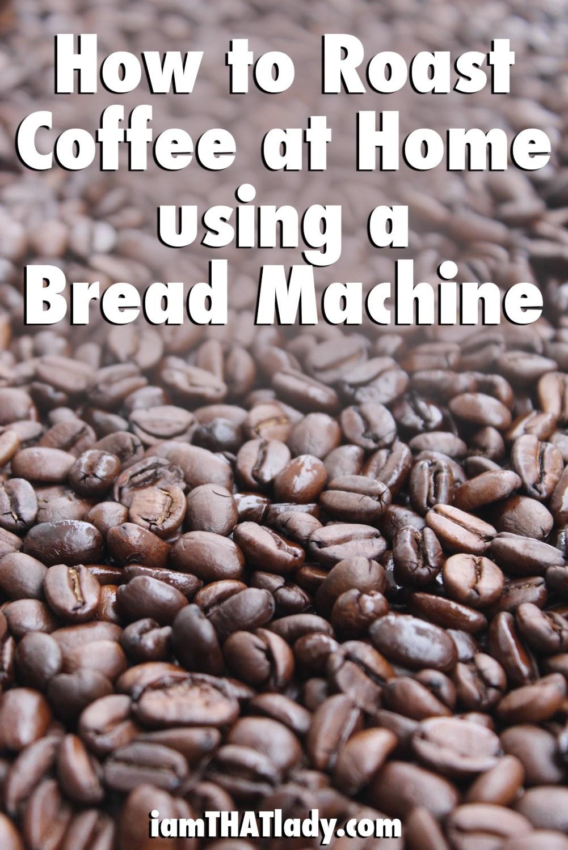 Cómo tostar café en casa usando una máquina de pan