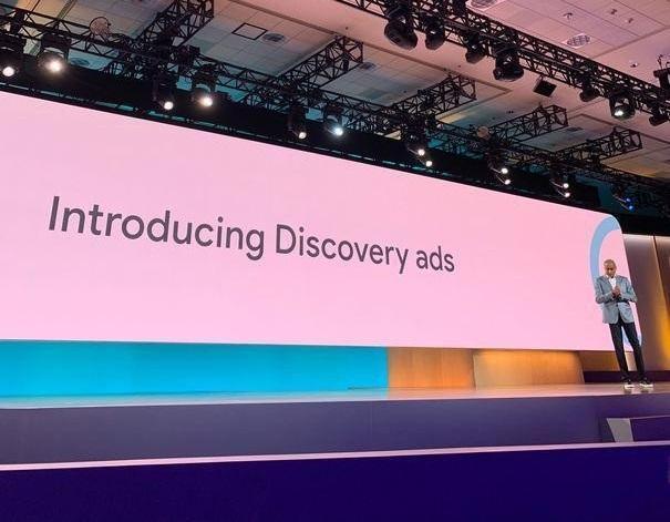 Anuncios de anuncios de Google Discovery